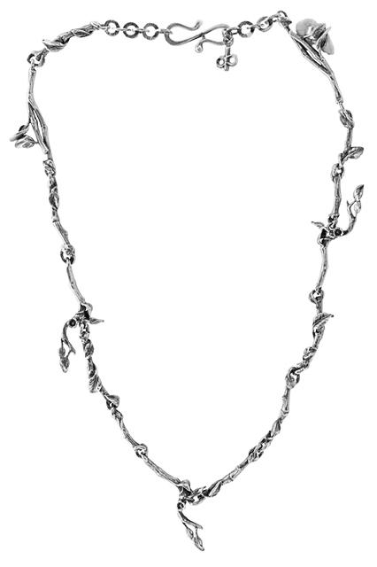 Silver Vine Necklace - 50% OFF!