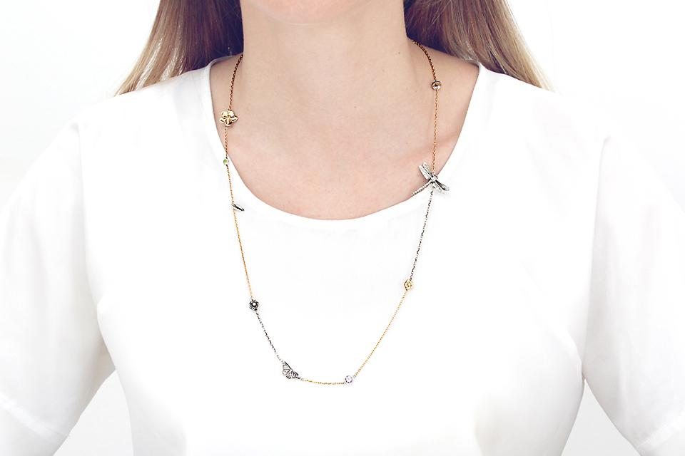 Mad Mama Chain in 9ct Rose Gold and Silver - 50% OFF!
