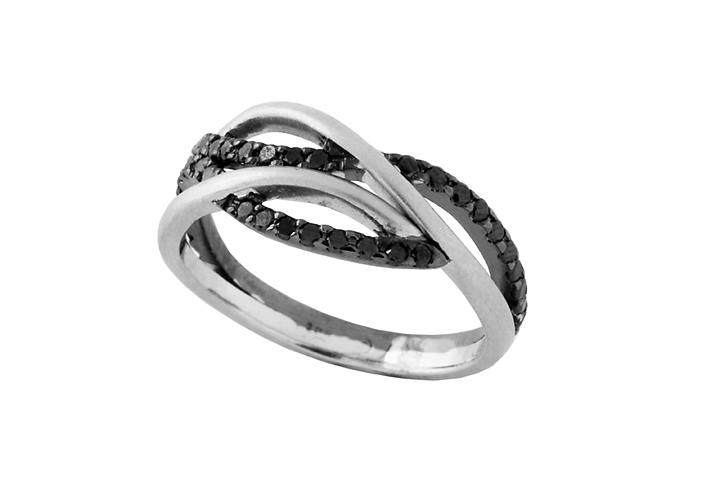 9ct White Gold and Diamond
