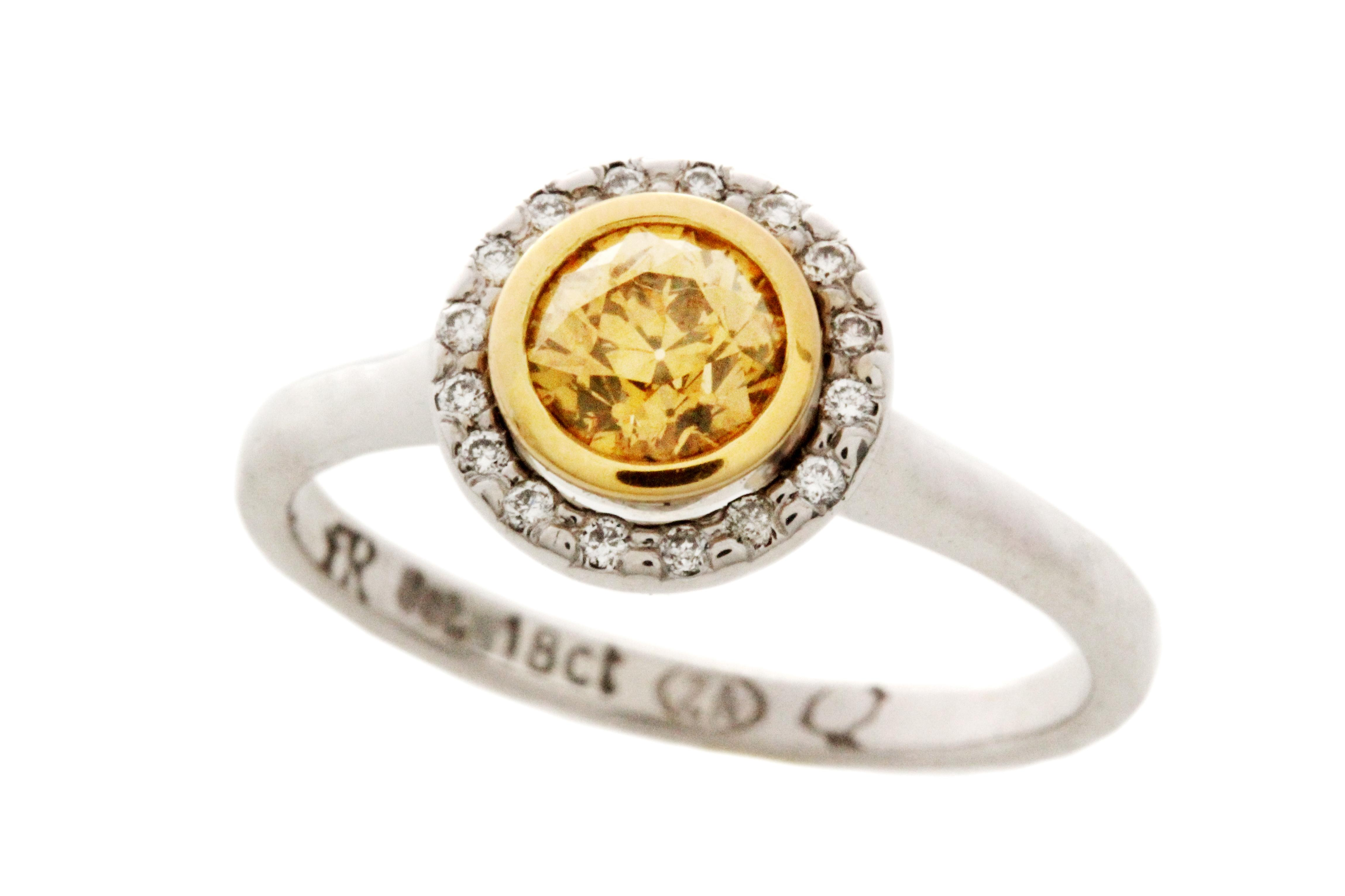 Sunshine Diamond Engagement Ring