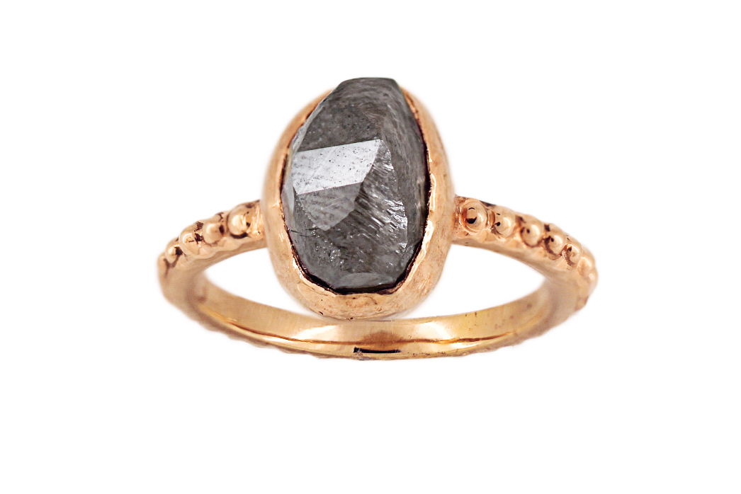 BOULDERS BEACH in 14ct Rose Gold