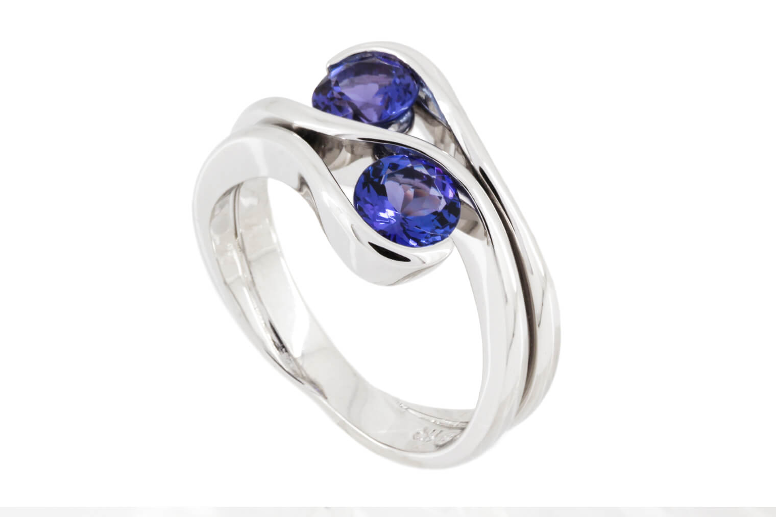Double Tanzanite Ring   2