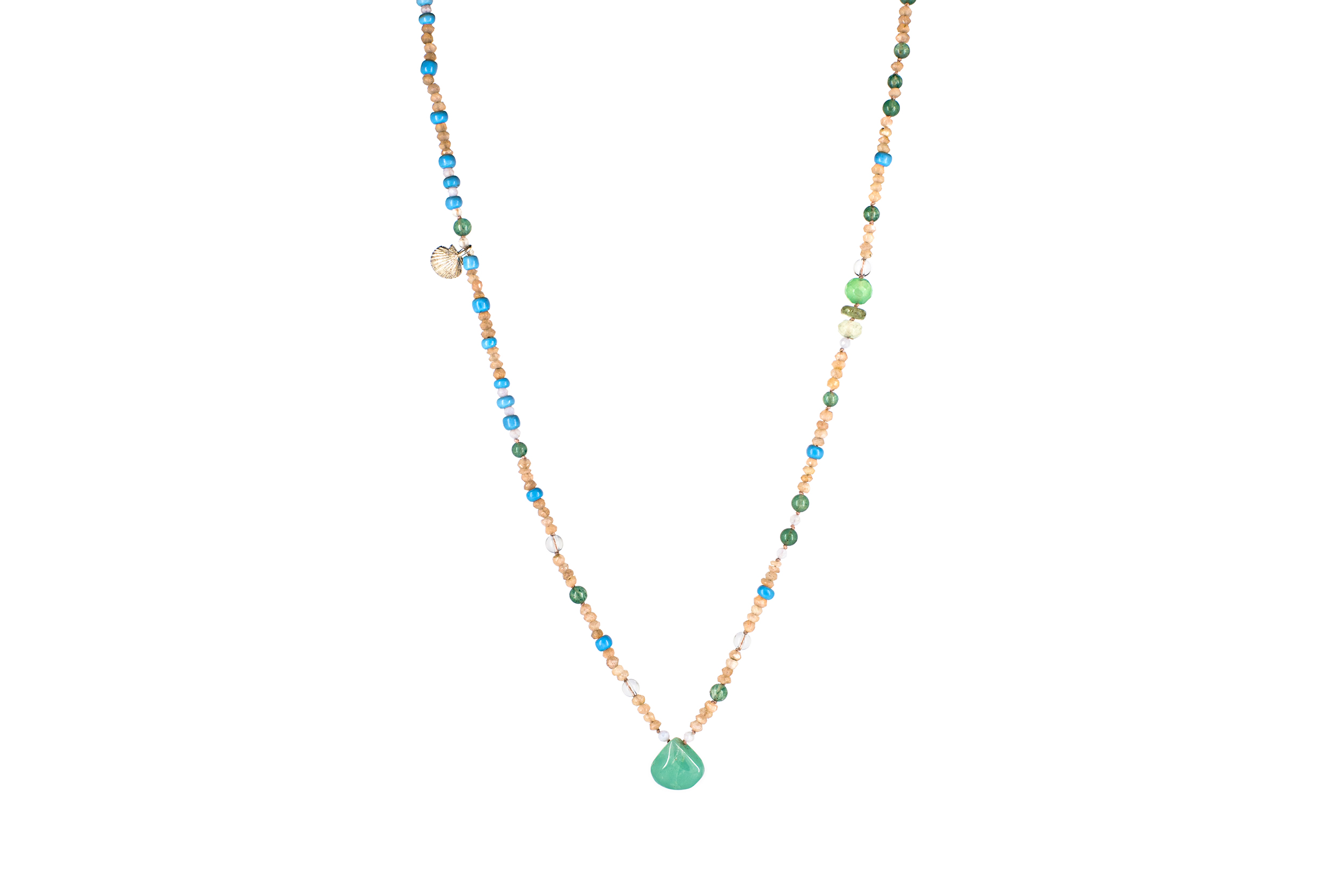 GROWTH Great Pause CHRYSOPRASE Necklace