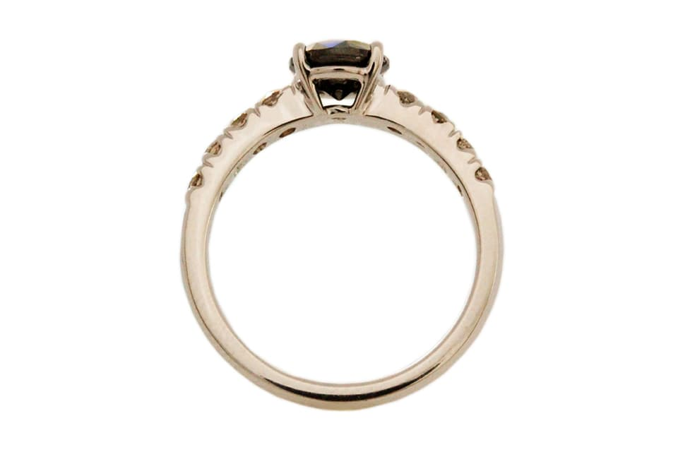 Black & Cognac Diamond Ring - 2