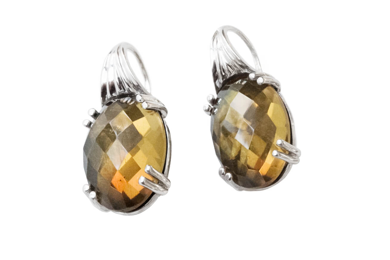 Citrine Earrings A