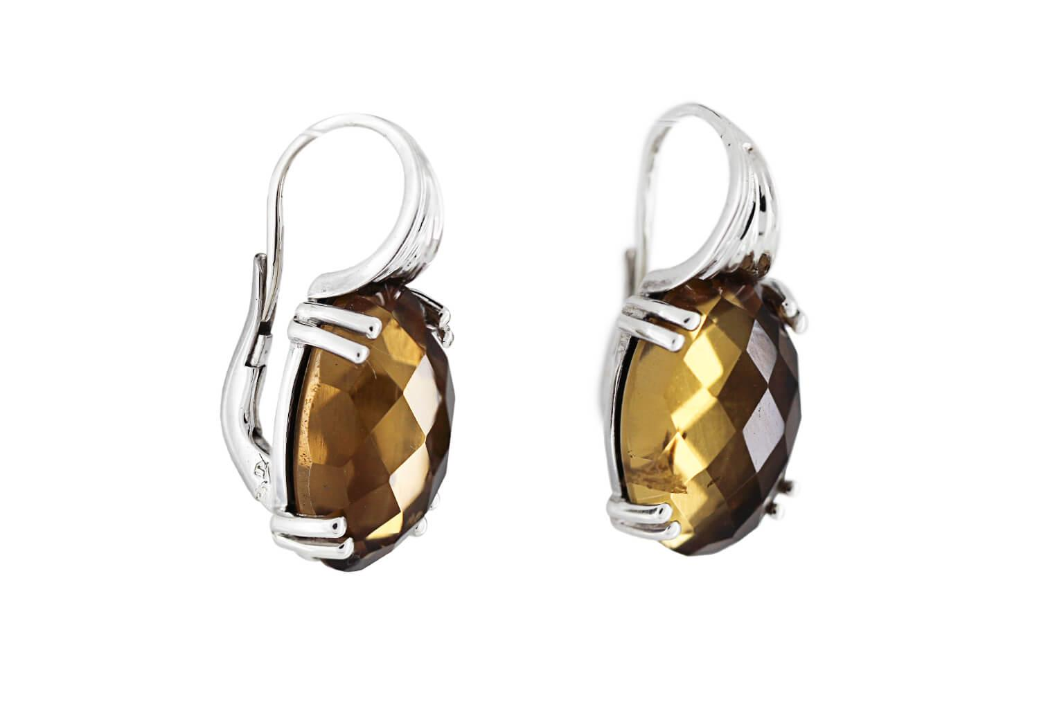 Citrine Earrings B
