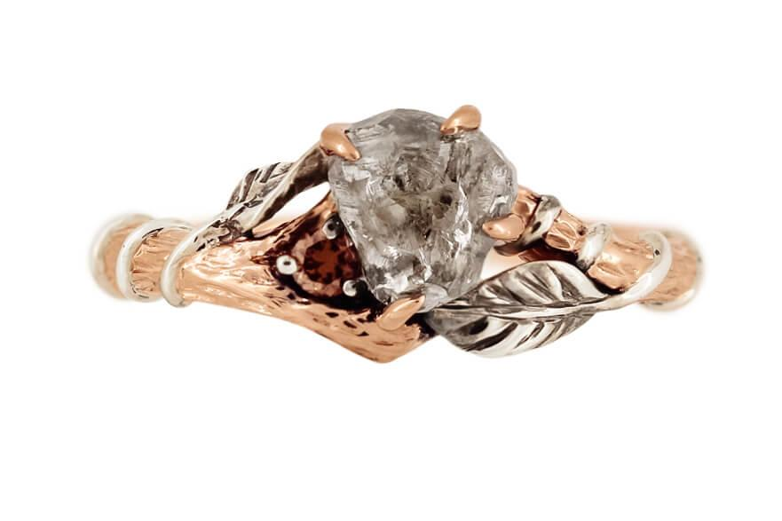 Rough Diamond Branch Ring A