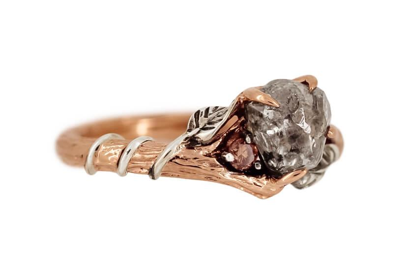 Rough Diamond Branch Ring C