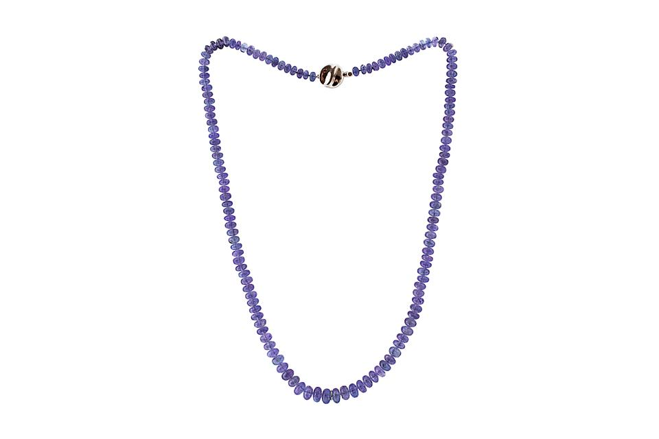 Tanzanite Bead Necklace - 50% OFF!