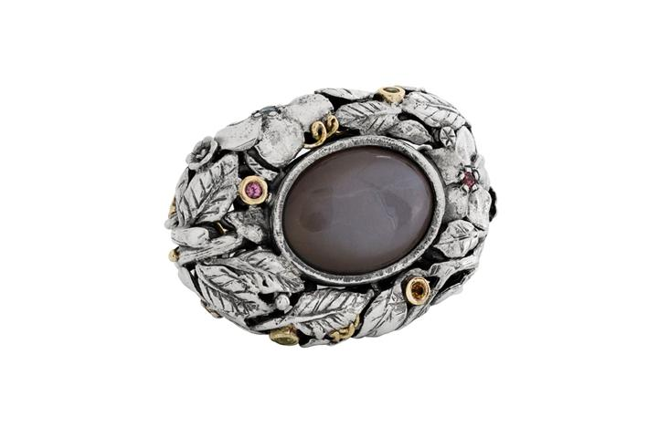 Moonstone Gobsmacker Ring