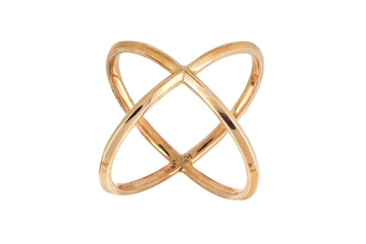 9ct Yellow Gold Orbit Ring